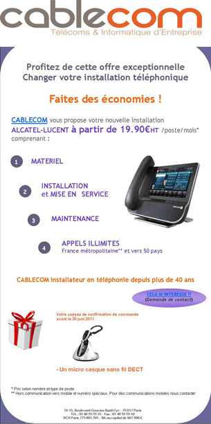 newsletter CableCom
